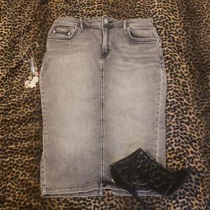 Calvin Klein Strech Pencil Skirt